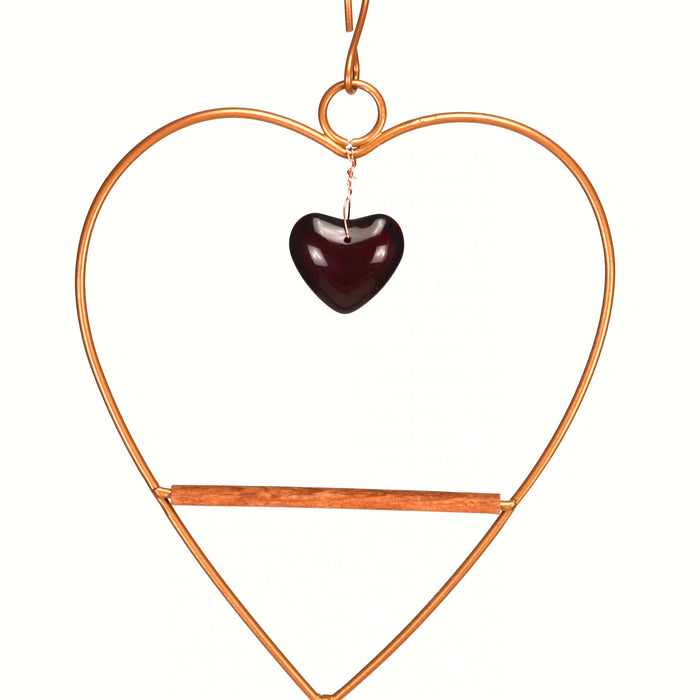 Tweet Heart Birdie Swing Copper Color