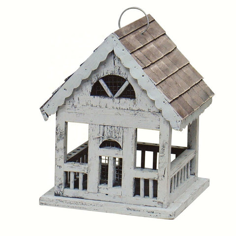 Ivory Gazebo Bird Feeder