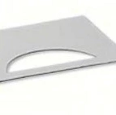 Aluminum Crescent Replacement Plate
