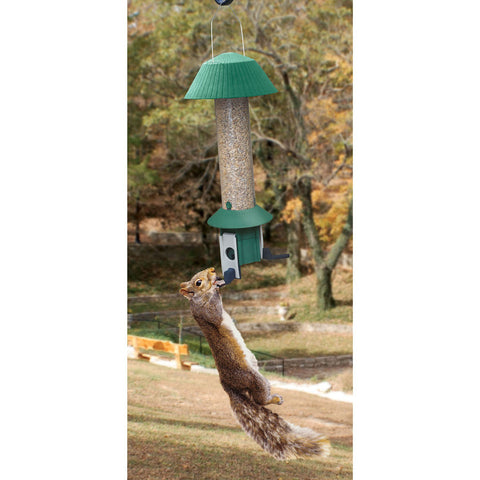 Songbird Essentials Squirrel Defeater 3 Individual Weight Controlled Port Nut Feeder