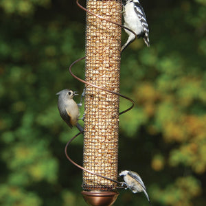 17 IN Copper Peanut Feeder