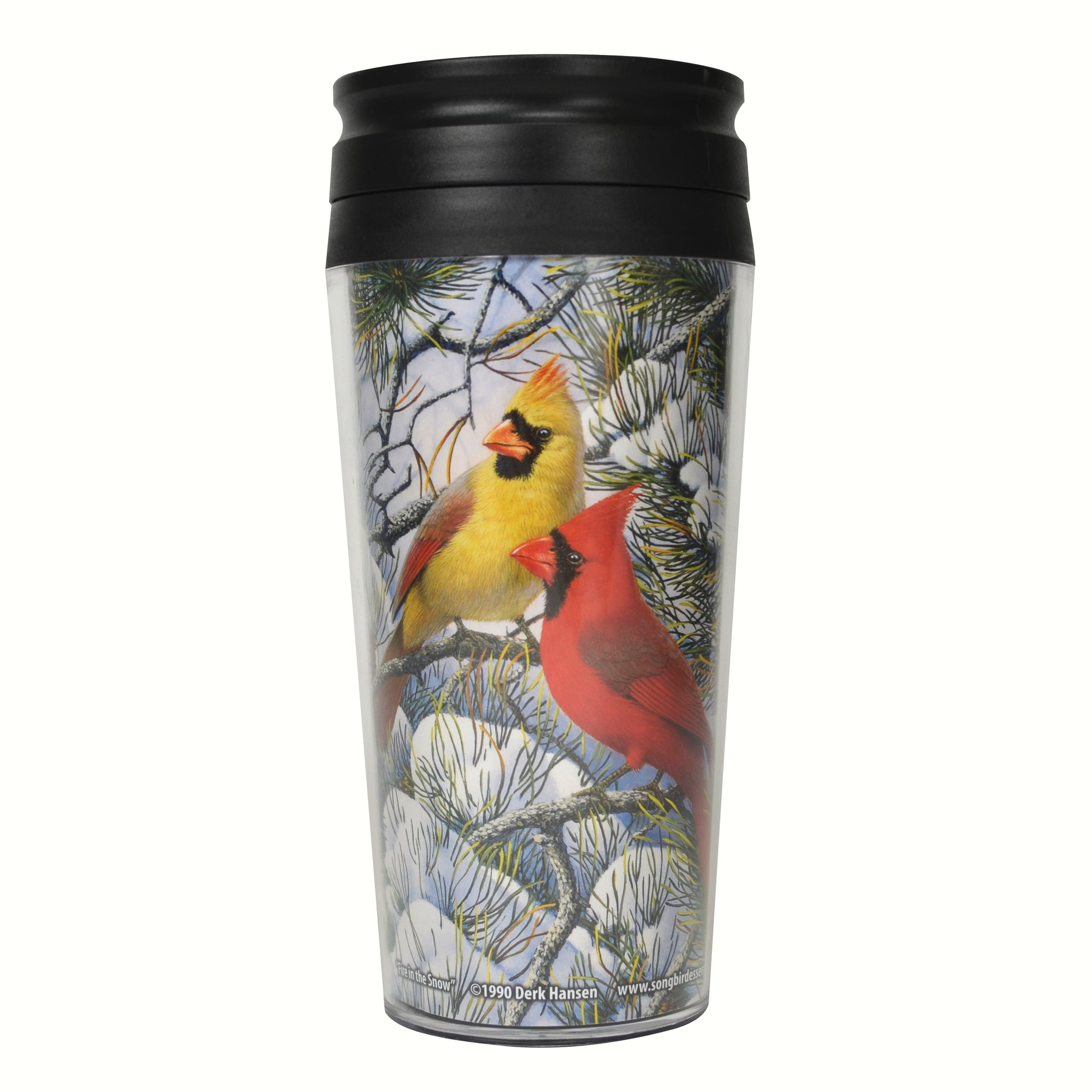 Songbird Essentials 16 Oz Fire In The Snow Thermal Mug