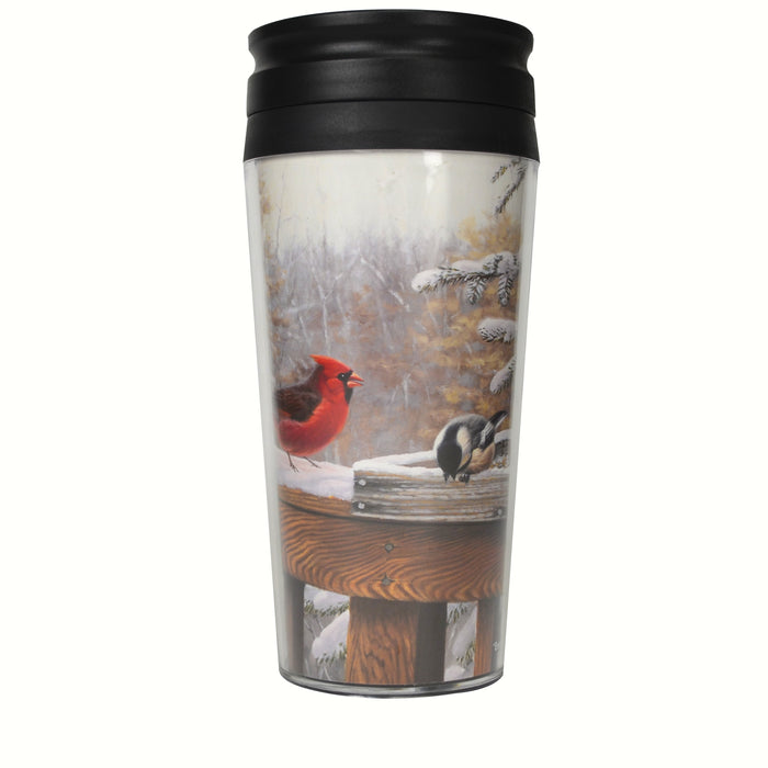 Songbird Essentials 16 Oz Entertaining Friends Poly Thermal Mug