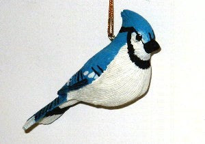 Songbird Essentials Poly-resin Blue Jay Ornament