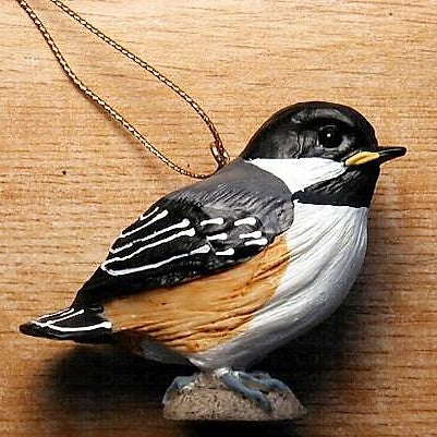 Songbird Essentials Poly-resin Baby Chickadee Ornament