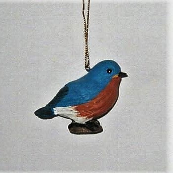 Songbird Essentials Poly-resin Baby Bluebird Ornament