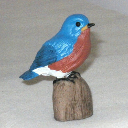 Songbird Essentials Poly-resin Bluebird Statuette