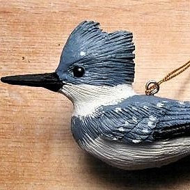 Songbird Essentials Poly-resin Kingfisher Ornament