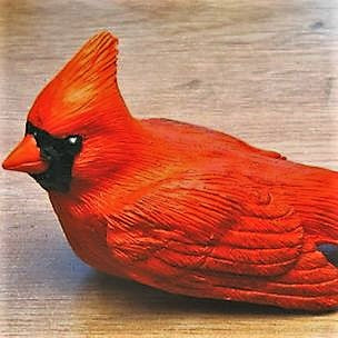 Songbird Essentials Poly-resin Cardinal Statuette