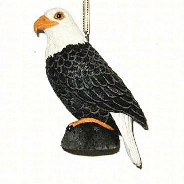 Songbird Essentials Poly-resin Eagle Ornament
