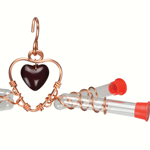 Tweet Heart 4 Tube Feeder