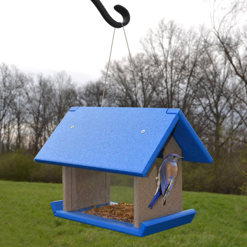 Blue - Gray Mealworm Feeder