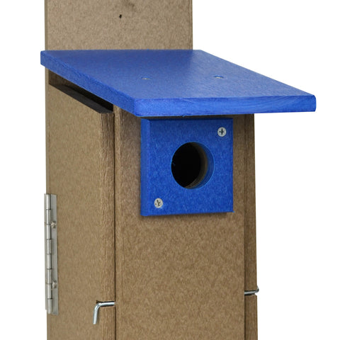 Recycled  Plastic Ultimate Bluebird House