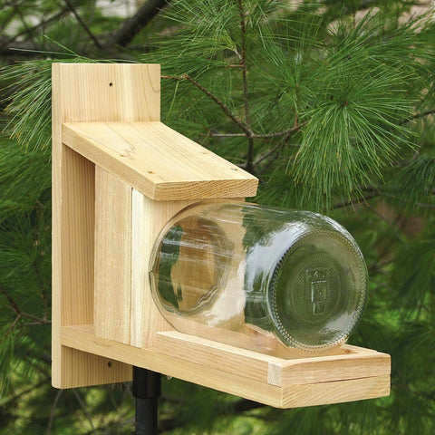 Jar Squirrel Feeder