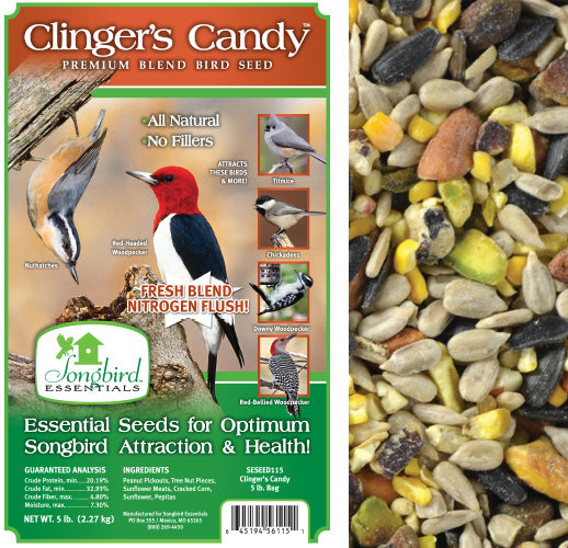 Songbird Essentials 5 LB Clinger's Candy