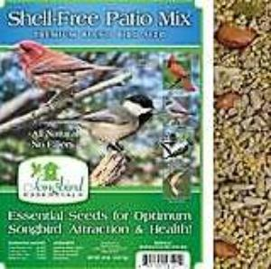 Songbird Essentials 5 LB Shell-Free Patio Mix