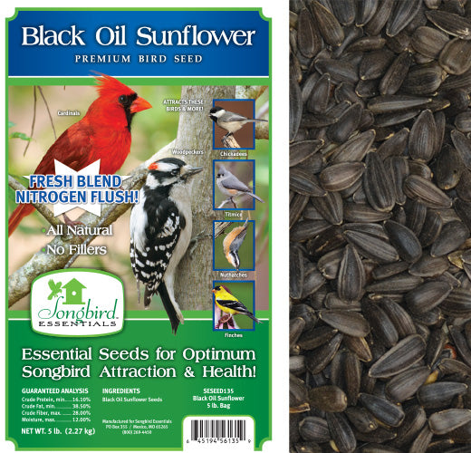 Songbird Essentials 5 LB Songbird Royal Black Oil