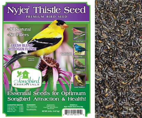 Songbird Essentials 20 LB Nyjer/Thistle Seed
