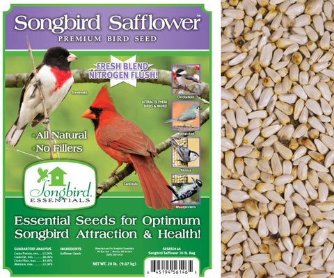 Songbird Essentials 20 LB Songbird Safflower