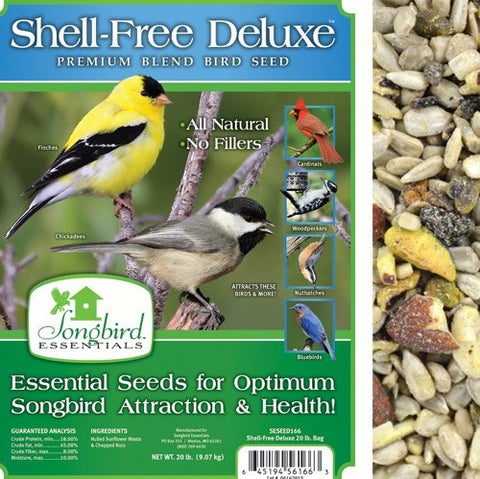 Songbird Essentials 5 LB Shell Free Deluxe