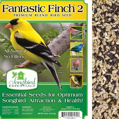 Songbird Essentials 20 LB Fantastic Finch 2