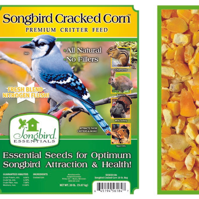 Songbird Essentials Songbird 5 LB Cracked Corn