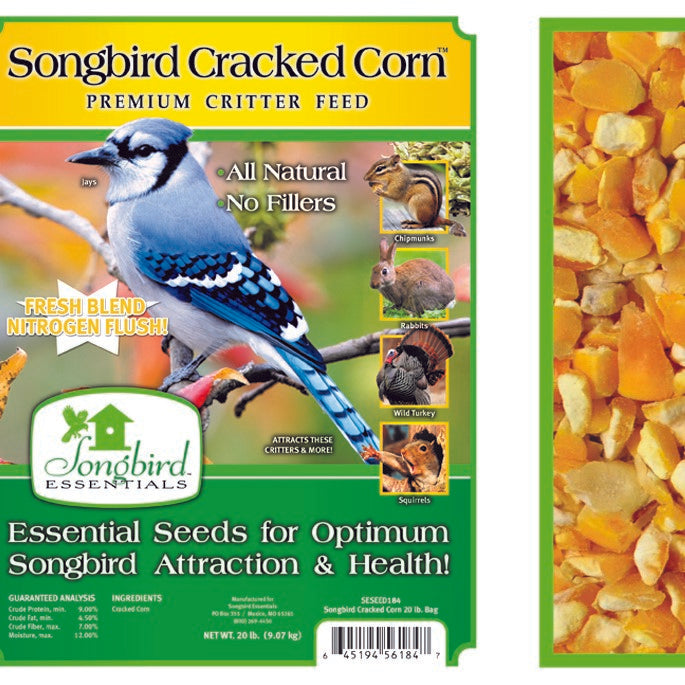Songbird Essentials Songbird 20 LB Cracked Corn