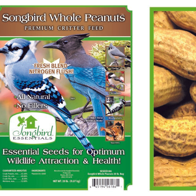 Songbird Essentials Songbird 5 LB Whole Peanuts