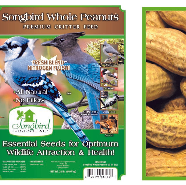 Songbird Essentials Songbird 15 LB Whole Peanuts
