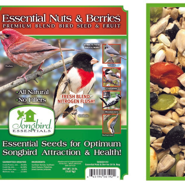 Songbird Essentials Essentials 5 LB Nuts and Berries
