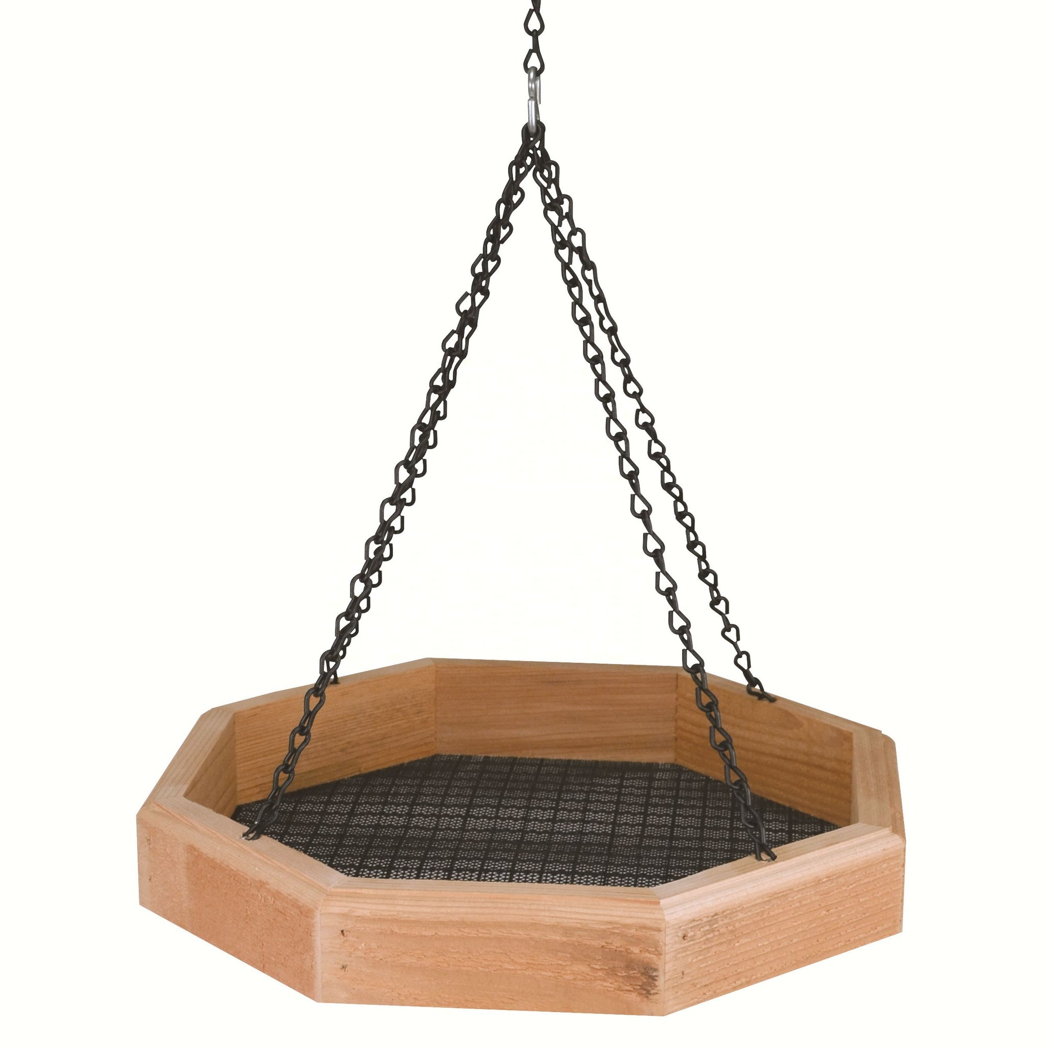 Cedar Hanging Tray Feeder