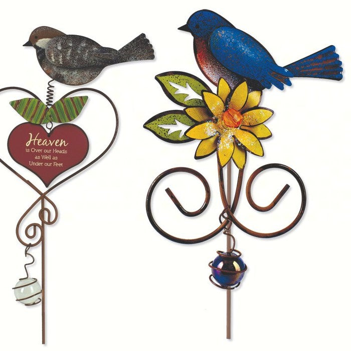 Birds of a Feather Bird Plant Picks