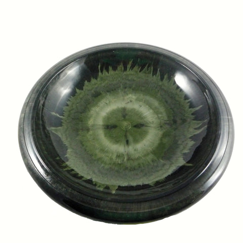TDI Brands Hunter Green Gloss Bird Bowl w/Gloss Rim Birdbath