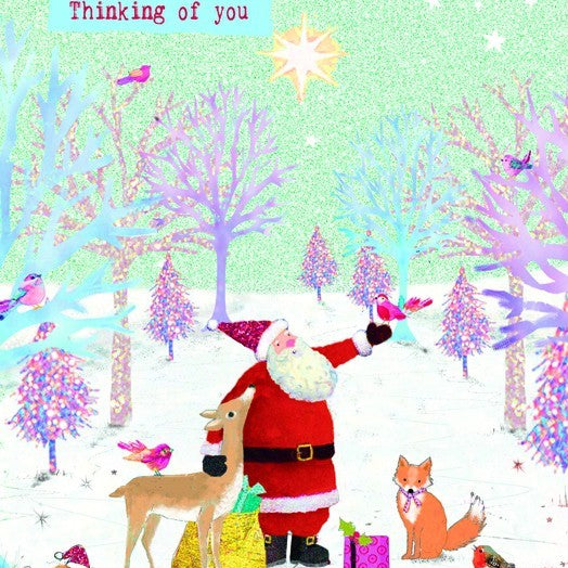 Storybook Santa Christmas Cards Pack of 6