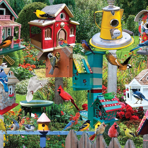 550 Piece Birdhouse Village Puzzle