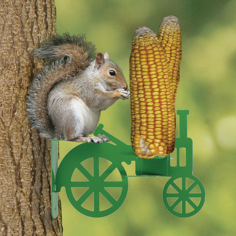 Squirrel Tractor Feeder