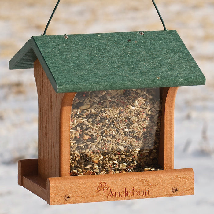 Going Green Recycled Plastic Ranch Bird Feeder