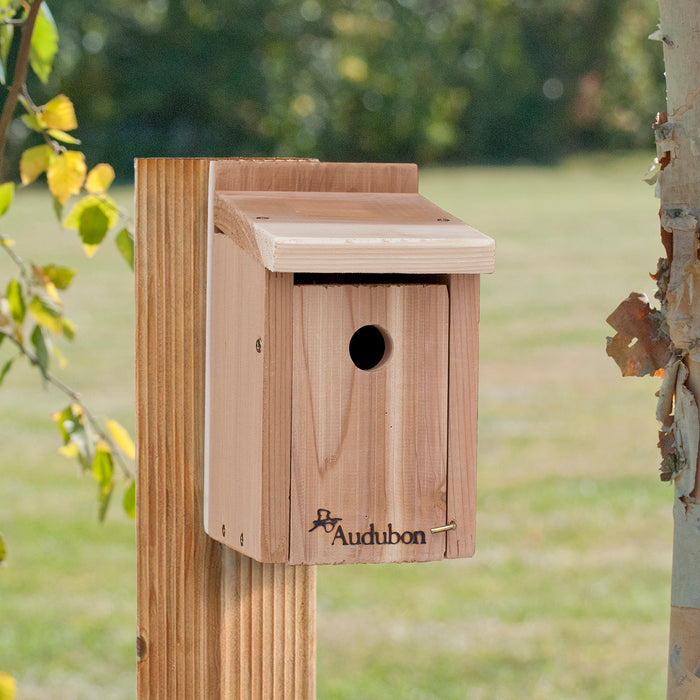 Cedar Wren Or Chickadee House