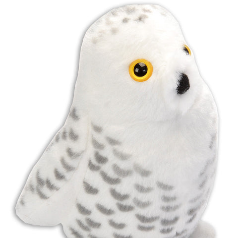 Snowy Owl 5 IN Plush Stuffed Toy