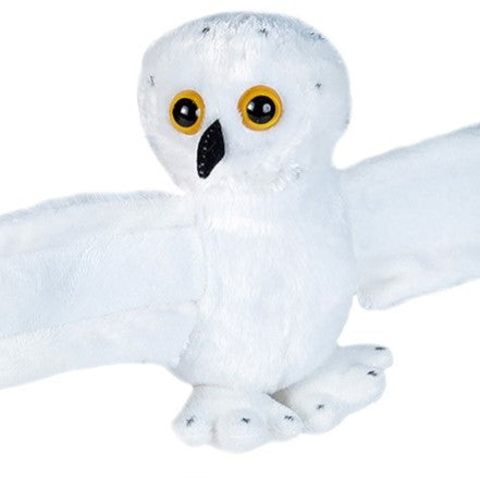 Snow Owl Hugger 8 IN Plush Stuffed Toy
