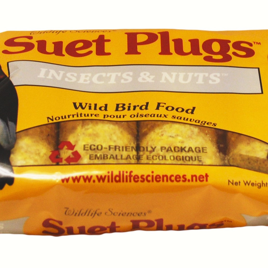 Insects & Nuts Suet Plugs 12 OZ