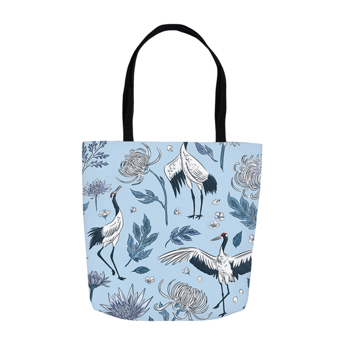 Chinese Crane Tote Bag