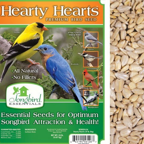 Songbird Essentials 20 LB Hearty Hearts