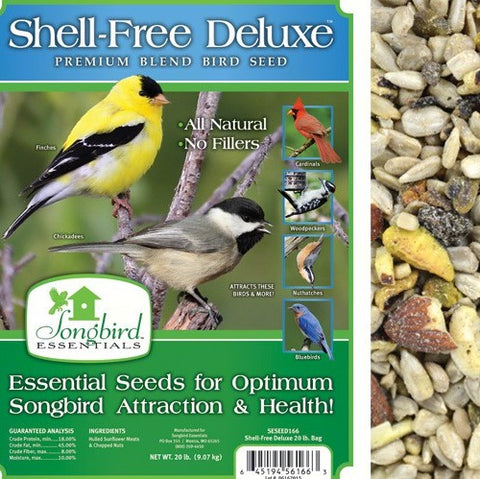 Songbird Essentials 20 LB Shell Free Deluxe