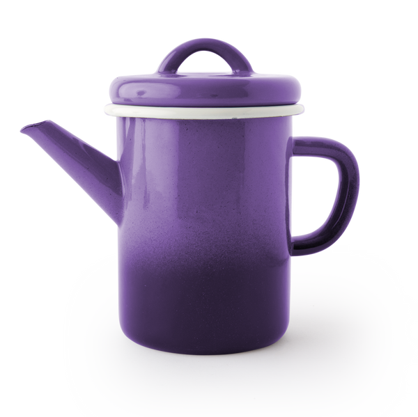 TEA POT - Ombre Purple Eggplant