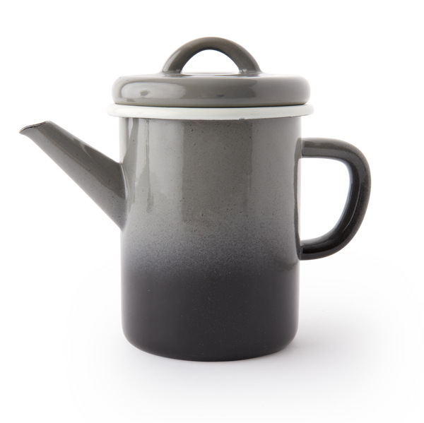 TEA POT - Ombre Grey Black