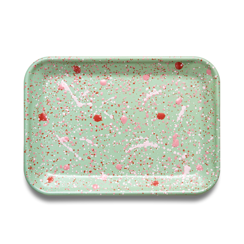 RECTANGULAR TRAY - Muscat Green