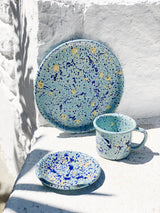 COOKIE PLATE 12cm - Aegean Blue
