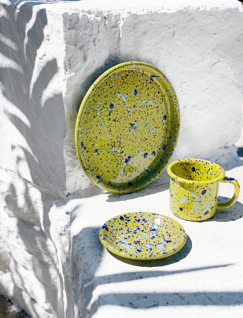 COOKIE PLATE 12cm - Lime