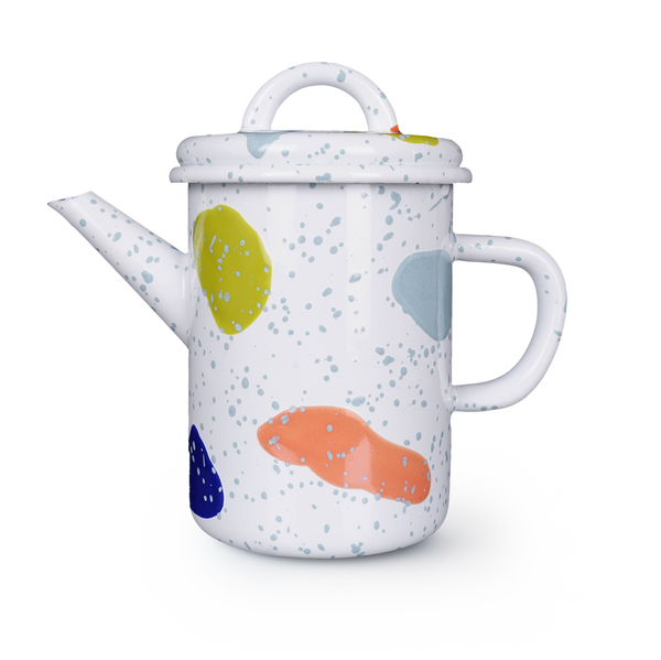 TEA POT - White